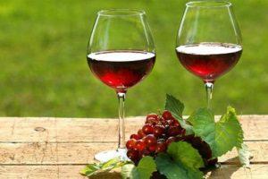 Красносмородиновое вино