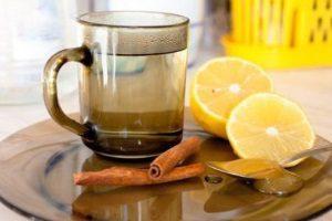 Лимон, корица