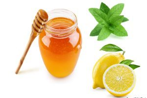 Мята, лимон, мед