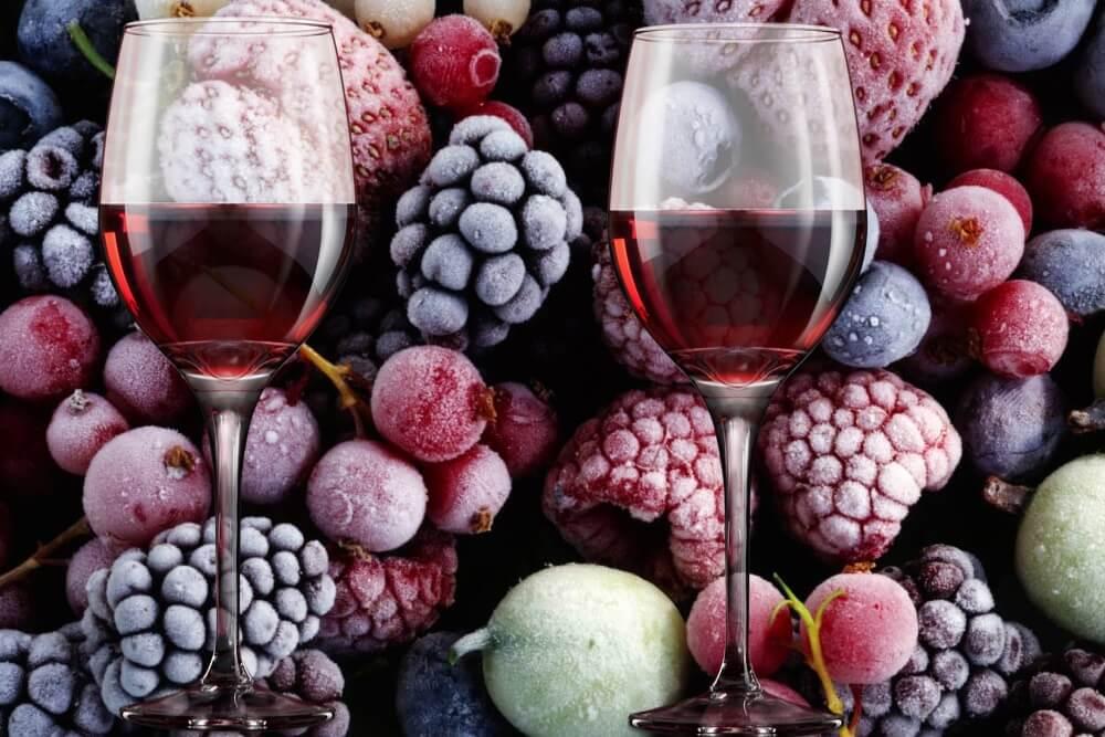 Вино из замороженных ягод