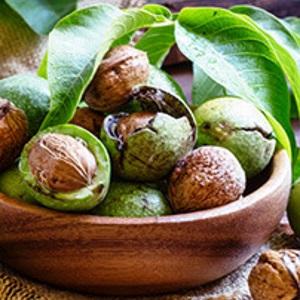 Грецкие орехи для восполнения йода