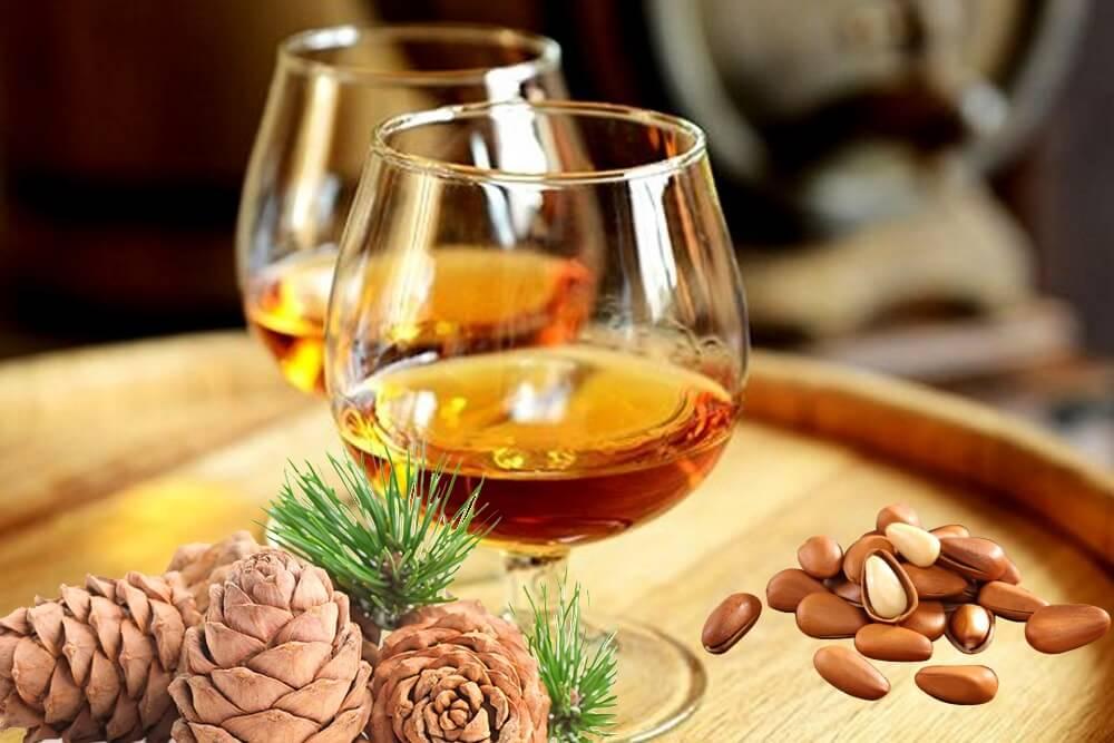 Настойка на кедровых орешках на самогоне – рецепты, как настаивать