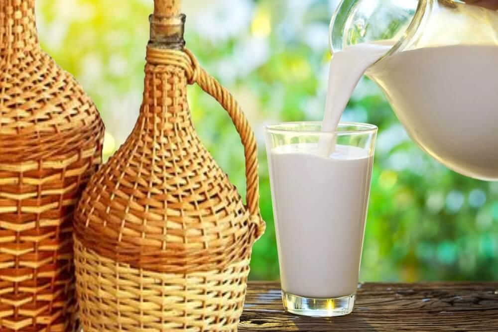 Как очистить самогон молоком