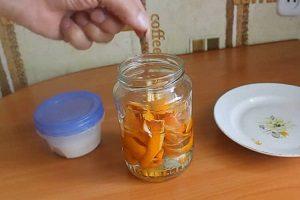 Настойка из апельсина