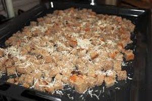Сухарики с сыром