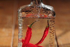 Водка на перце