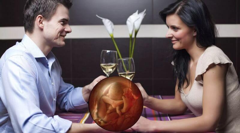 Как влияет алкоголь на зачатие ребенка