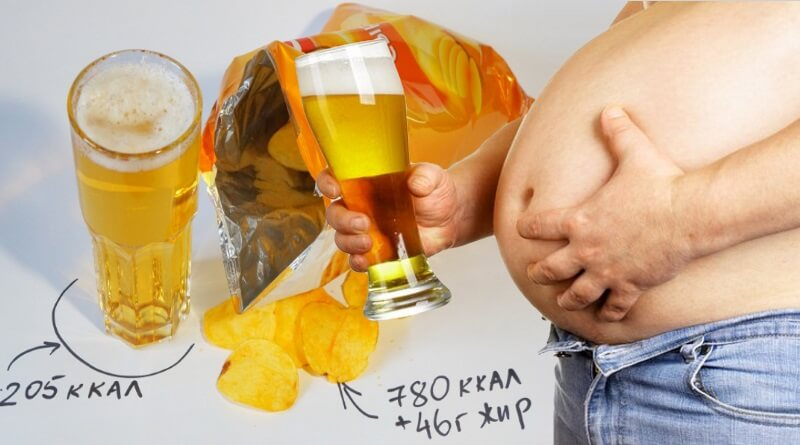 Сколько калорий в пиве