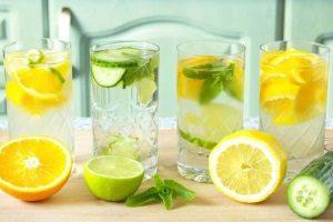 Вода с цитрусовыми