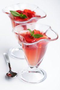 Алкогольное желе с ягодами