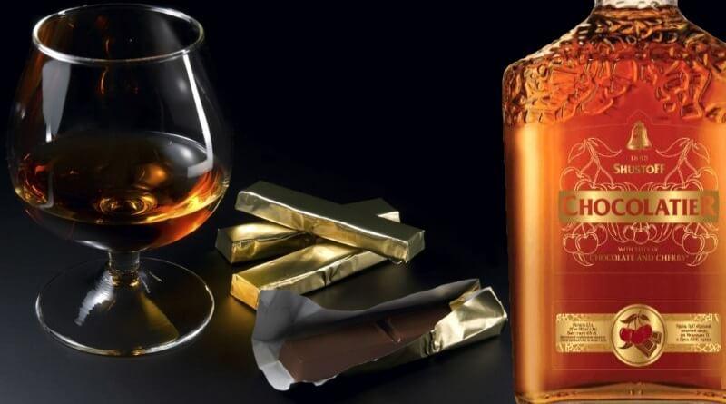 Коньяк со вкусом шоколада