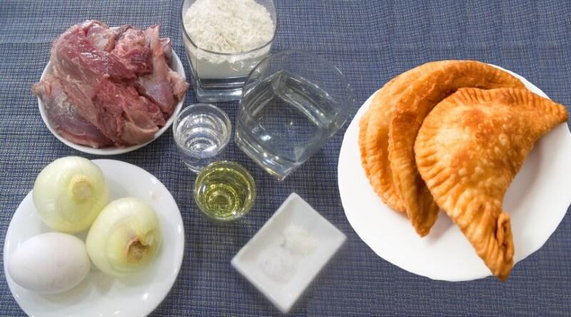 Тесто для чебуреков с водкой