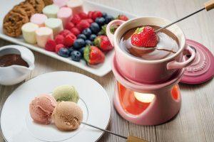 С ягодами и зефиром