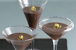 С темным шоколадом
