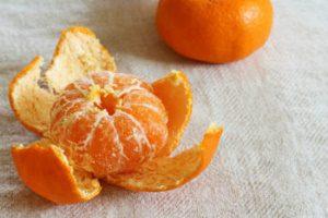 Корки мандаринов