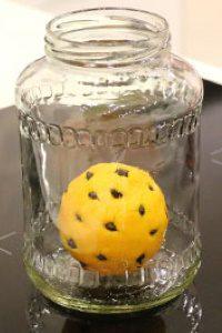 Начиненный зернами кофе лимон