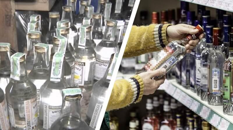 Как отличить паленую водку от настоящей