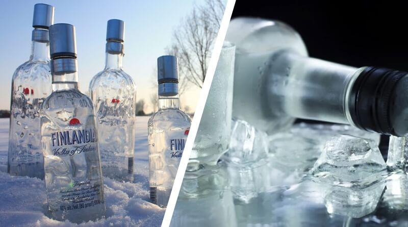 Температура замерзания водки