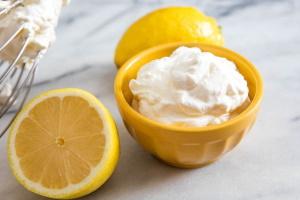 Лимон и сливки