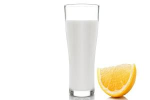 Жидкие сливки, лимон