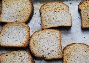 Поджарка хлеба